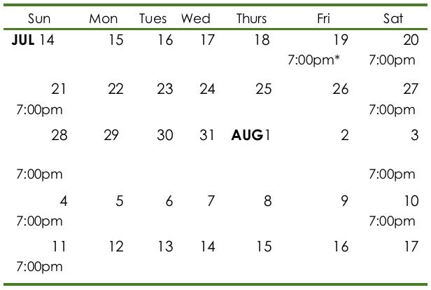 Mid19 Calendar